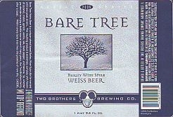 Two Brothers Bare Tree beer Label Full Size