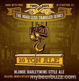 Two Roads 20 Ton Blonde Barleywine Beer