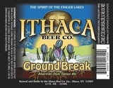Ithaca Ground Break Saison beer