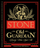 Stone Old Guardian Barleywine 2010 Beer