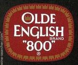 Olde English beer