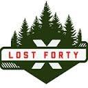 Lost Forty Bare Bones Pilsner beer Label Full Size