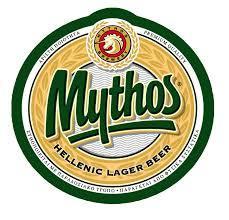 Mythos Greek Lager beer Label Full Size