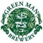 Green Man American Lager beer Label Full Size