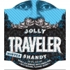 Curious Traveler Jolly Winter beer Label Full Size