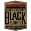 Drake's Black Robusto Porter on Cask with Oakchips beer