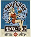 Breckenridge Pandora's Bock beer