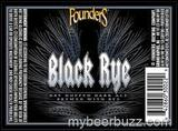 Founders Black Rye beer