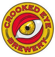 Crooked Eye Hazy Eye Double IPA beer Label Full Size