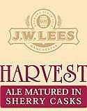 JW Lees Harvest Ale Sherry beer