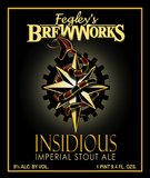 Fegley's Insidious Imperial Stout beer