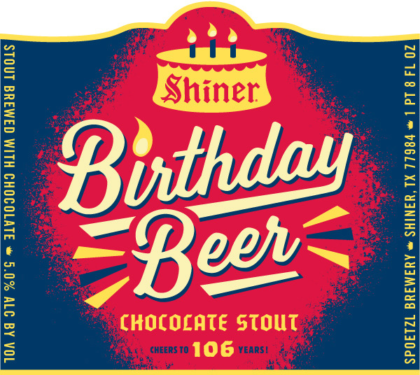 Shiner Birthday Beer Chocolate Stout Beer