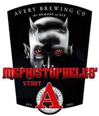 Avery Mephistopheles Stout 2014 beer Label Full Size