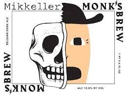 Mikkeller Monk's Brew beer Label Full Size