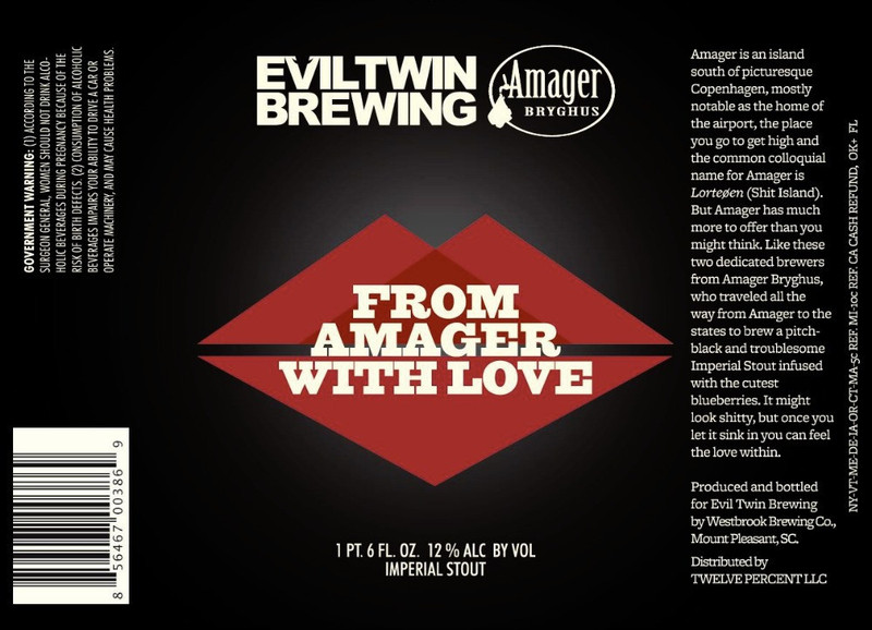 Evil Twin From Amager With Love Beer