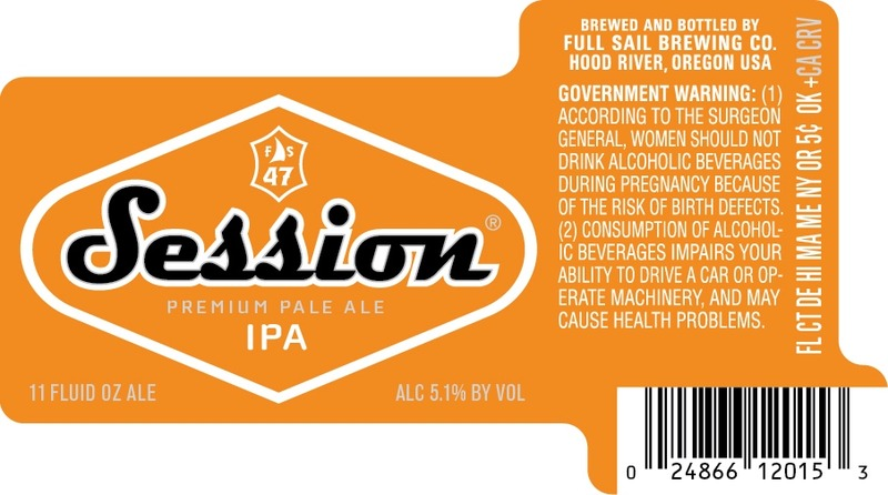 Full Sail Session IPA beer Label Full Size