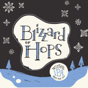 Tröegs Blizzard of Hops Winter IPA beer Label Full Size