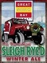 Great South Bay Gin Barrel-Aged Sleigh Ryed Winter Ale beer