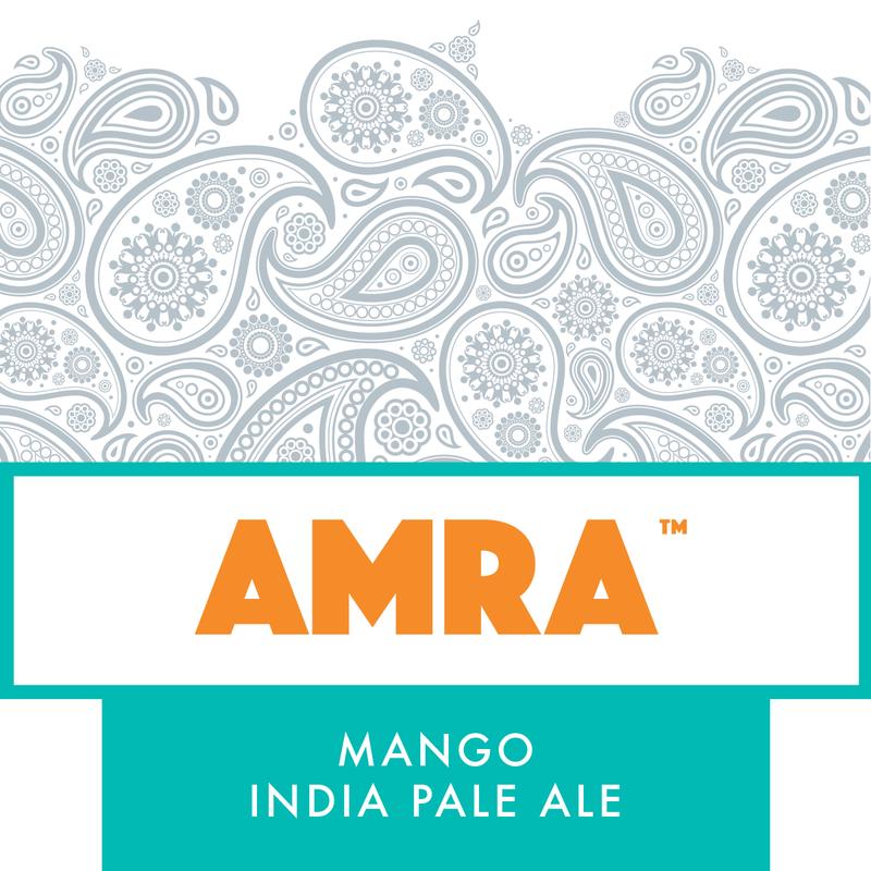 DESTIHL Amra Mango IPA beer Label Full Size