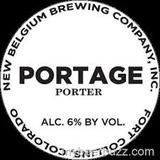 New Belgium Portage Porter beer