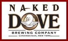 Naked Dove 4th Anniversary Strong Mild beer Label Full Size