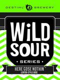 Destihl Wild Sour Series: Here Gose Nothin' Beer
