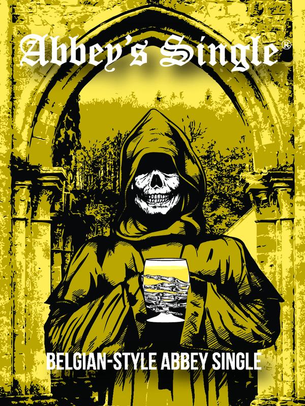DESTIHL Abbey's Single beer Label Full Size