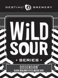 Destihl Wild Sour Series: Dissension beer