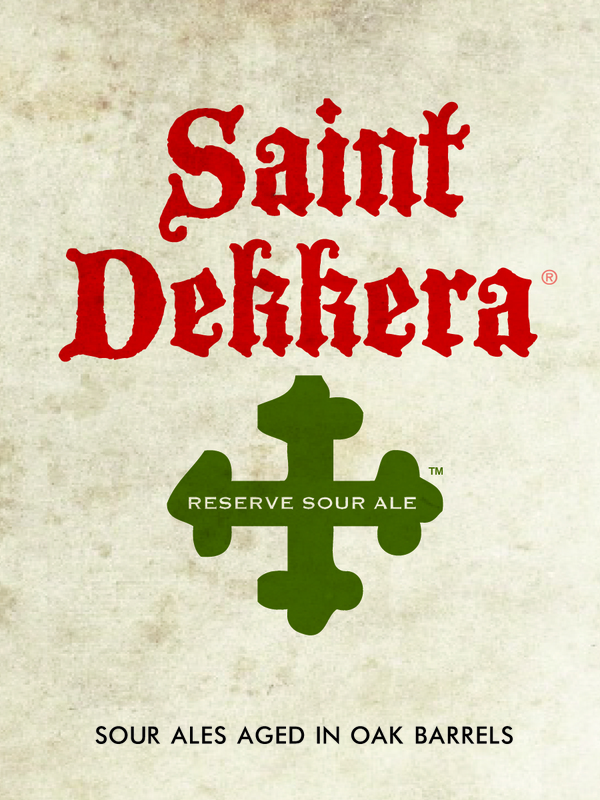 Destihl Saint Dekkera Reserve Sour Ale: Kriek (Cherry Lambic) beer Label Full Size