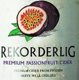 Rekorderlig Passion Fruit beer