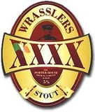 Porterhouse Wrasslers XXXX Stout Beer