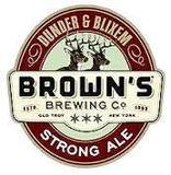 Brown's Dunder & Blixem beer