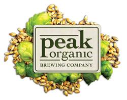 Peak Organic Stout Nitro beer Label Full Size