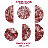 Sketchbook Snowy Owl beer
