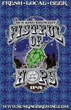 Sun KIng Fistful of Hops Blue beer