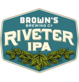 Brown's Riveter IPA beer