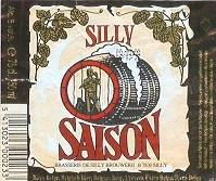 Silly Saison beer Label Full Size