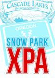 Cascade Lakes Snow Park XPA beer