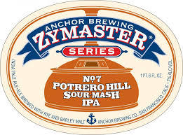 Anchor Zymaster Series: Potrero Hill Sour Mash IPA beer Label Full Size