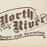 North River Balsam Lake Mountain Amber beer Label Full Size