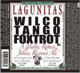 Lagunitas Wilco Tango Foxtrot (WTF) beer