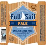 Full Sail Pale Ale beer