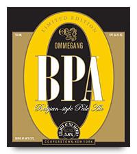 Ommegang BPA beer Label Full Size