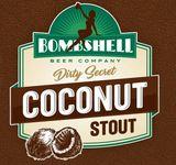 Bombshell Dirty Secret Coconut Stout beer