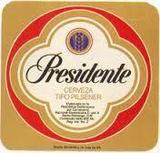 Presidente Cerveza Pilsener Beer beer