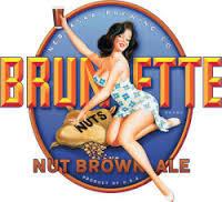 Nebraska Brunette Nut Brown beer Label Full Size