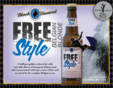 Black Diamond Free Style Belgian Blonde beer
