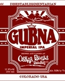Oskar Blues Gubna beer