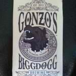Gonzos Big Dog Vanilla Java Porter beer