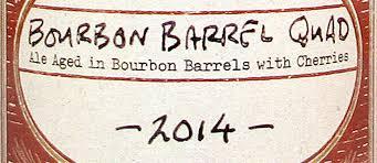 Boulevard Bourbon Barrel Quad 2014 Beer